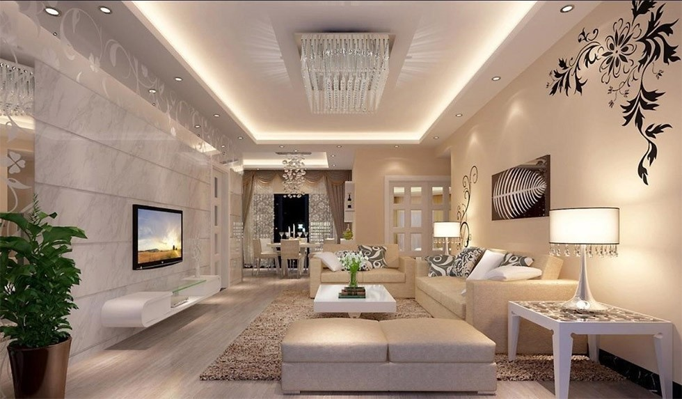 Lighting design of apartments